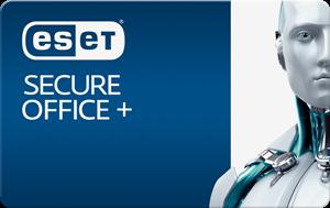 Obrázek ESET Secure Office +, licence pro nového uživatele ve školství, počet licencí 40, platnost 3 roky