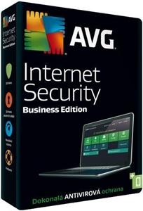Obrázek AVG Internet Security Business Edition, obnovení licence, počet licencí 20, platnost 1 rok