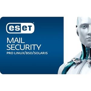 Obrázek ESET Mail Security pro Linux/BSD/Solaris, obnovení licence ve školství, počet licencí 25, platnost 2 roky