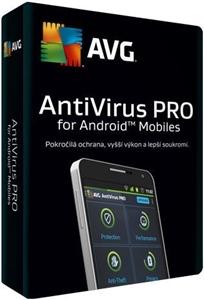 Obrázek AVG Antivirus PRO pro mobily SMB, licence pro nového uživatele, počet licencí 40, platnost 1 rok