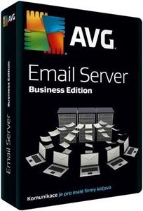 Obrázek AVG Email Server Edition, licence pro nového uživatele, počet licencí 40, platnost 1 rok