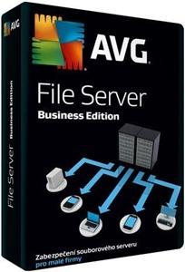 Obrázek AVG File Server Edition, licence pro nového uživatele, počet licencí 3, platnost 2 roky
