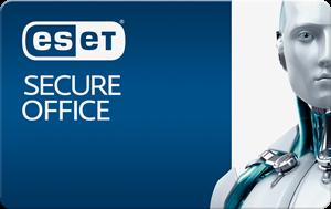 Obrázek ESET Secure Office, obnovení licence, počet licencí 5, platnost 3 roky