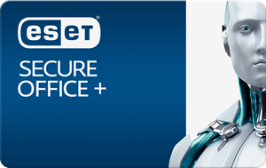 Obrázek ESET Secure Office +, licence pro nového uživatele, počet licencí 15, platnost 2 roky