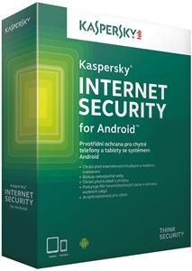 Obrázek Kaspersky Internet Security pro Android, licence pro nového uživatele, počet licencí 1, platnost 1 rok