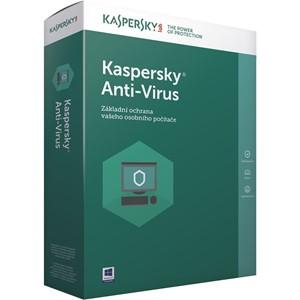 Obrázek Kaspersky Anti-virus 2021, obnovení licence, počet licencí 1, platnost 2 roky