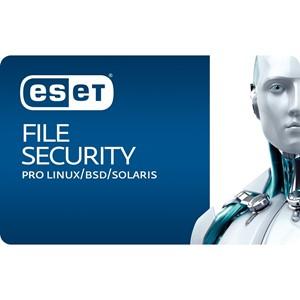 Obrázek ESET Server Security pro Linux; licence pro nového uživatele ve školství; počet licencí 2; platnost 2 roky