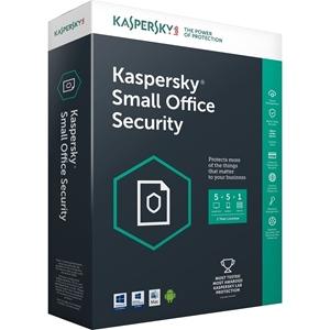 Obrázek Kaspersky Small Office Security, licence pro nového uživatele, počet licencí 45 + 45 + 5, platnost 1 rok