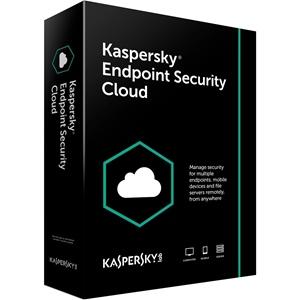Obrázek Kaspersky Endpoint Security Cloud; licence pro nového uživatele; počet licencí 20; platnost 1 rok