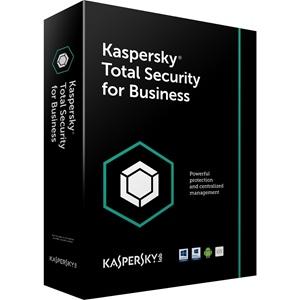 Obrázek Kaspersky Total Security for Business; obnovení licence; počet licencí 35; platnost 1 rok
