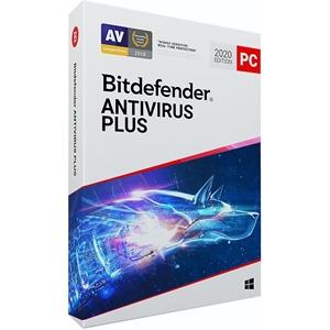 Obrázek Bitdefender Antivirus Plus 2021, obnovení licence, platnost 2 roky, počet licencí 5