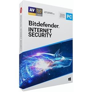 Obrázek Bitdefender Internet Security 2021, licence pro nového uživatele, platnost 3 roky, počet licencí 3