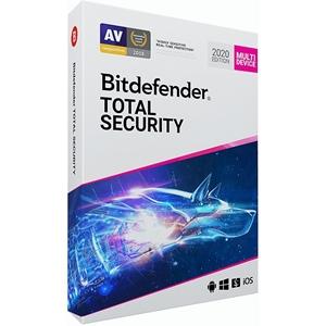 Obrázek Bitdefender Total Security 2020, licence pro nového uživatele, platnost 1 rok, počet licencí 10