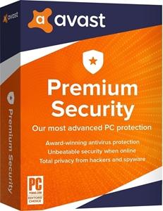 Obrázek Avast Premium Security 2021, obnovení licence, platnost 3 roky, počet licencí 10